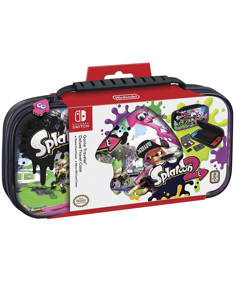 Traveler Case Splatoon 2 Nintendo Switch