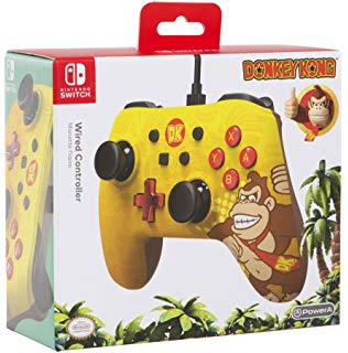 Power A - Mando con cable Core, Icone Donkey Kong (Nintendo Switch)