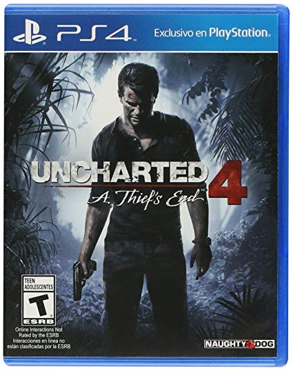 Uncharted 4: A Thiefs End - PlayStation 4 - Standard Edition