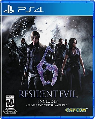 Resident Evil 6 Hd - PlayStation 4 Standard Edition