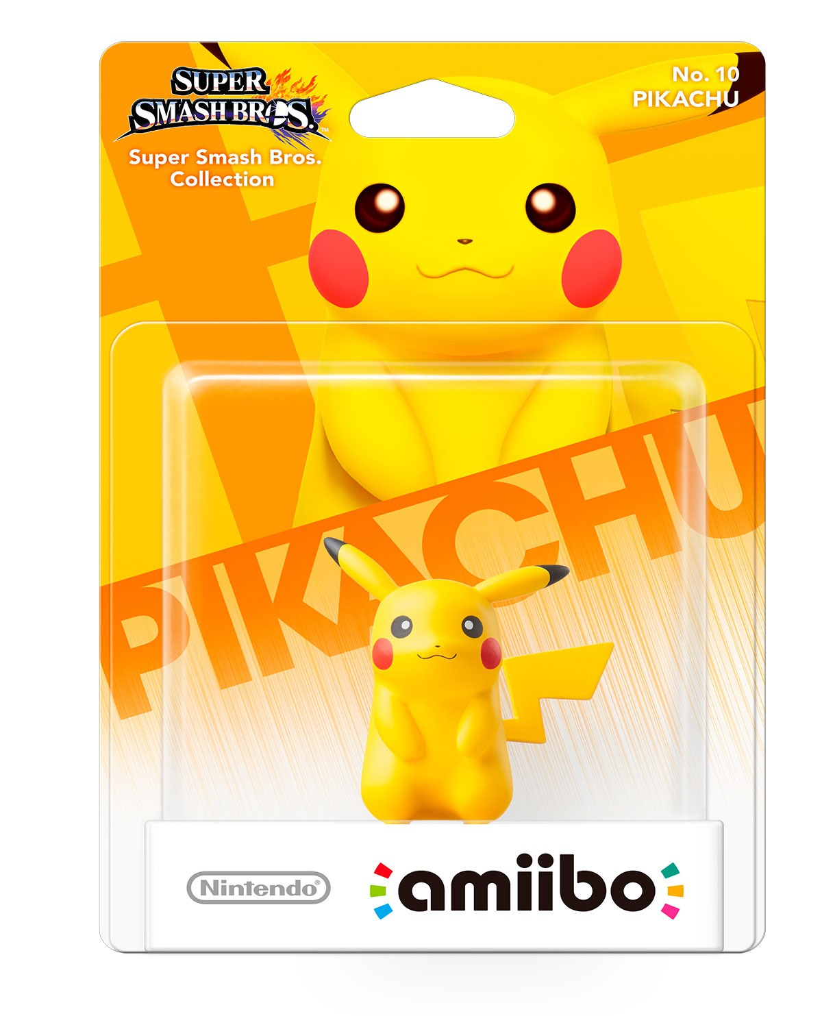 Super Smash Bros. Series Action Figure Amiibo Pikachu - Standard Edition