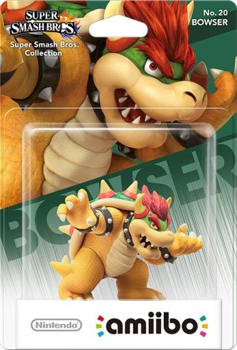 Amiibo Bowser Supermario Series - Standard Edition
